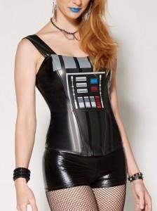 Spencers - women's Darth Vader corset top
