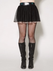 Spencers - women's Darth Vader tutu skirt