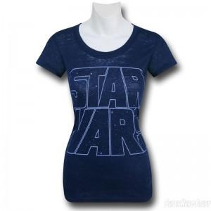 SuperHeroStuff - women's classic Star Wars logo t-shirt