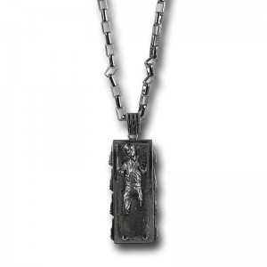 SuperHeroStuff - Han in Carbonite necklace by Han Cholo