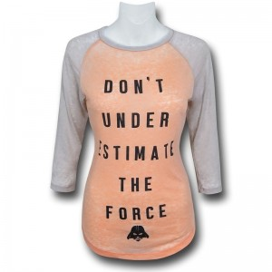 SuperHeroSuff - women's Force raglan 3/4 sleeve top