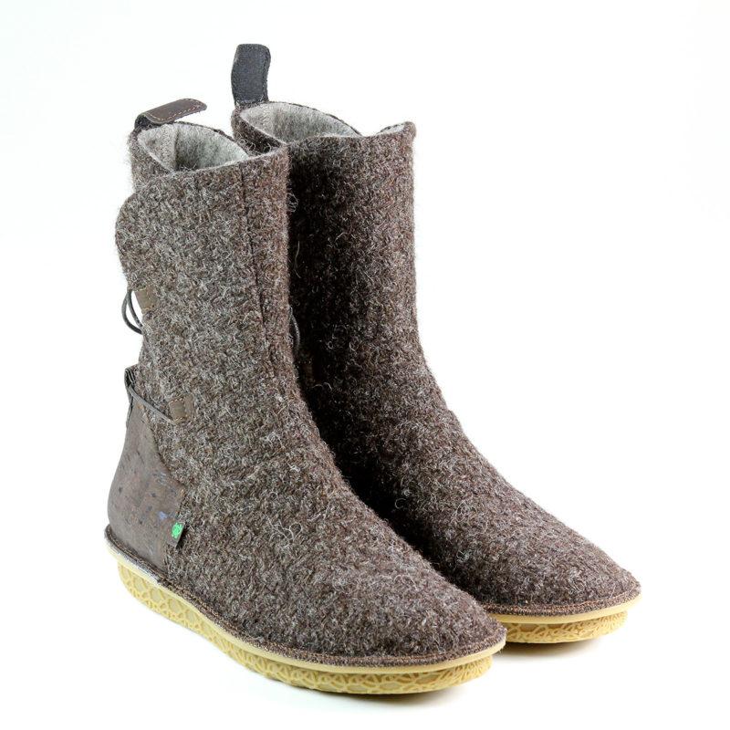 Po-Zu - Piper V Dark Brown shoes