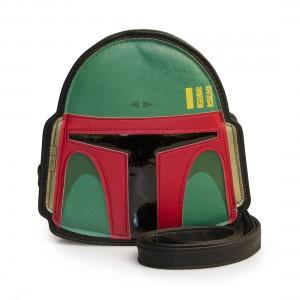 Loungefly - Boba Fett helmet crossbody bag (front)