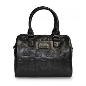 Loungefly - Dark Side Mini City embossed crossbody bag (front)