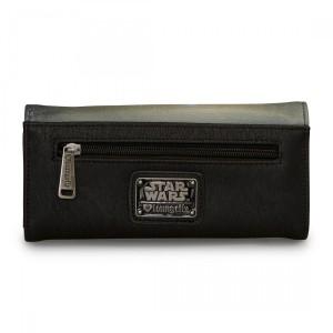 Loungefly - Darth Vader vs Obi-Wan Kenobi photo real wallet (back)