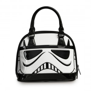 Loungefly - patent Stormtrooper dome bag (front)
