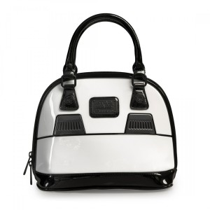Loungefly - patent Stormtrooper dome bag (back)