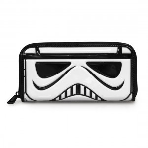 Loungefly - patent Stormtrooper wallet (front)