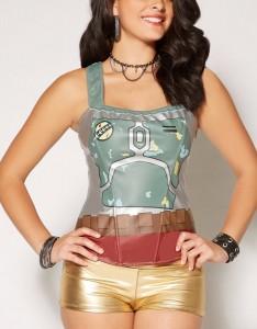 Spencers - womens' Boba Fett corset top