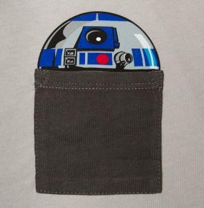 Thinkgeek - women's plus size R2-D2 pocket tee