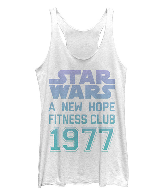 fbce1806aee28 Zulily - women's Star Wars workout themed tank top by Chin Up Apparel ...