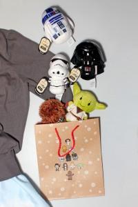 Star Wars 'Itty Bittys' soft toys by Hallmark as gifts