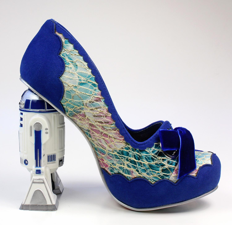 e52aa20bc2a Review - Irregular Choice R2-D2 heels - The Kessel Runway
