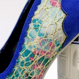 Irregular Choice x Star Wars - R2-D2 shoes (lace detail)