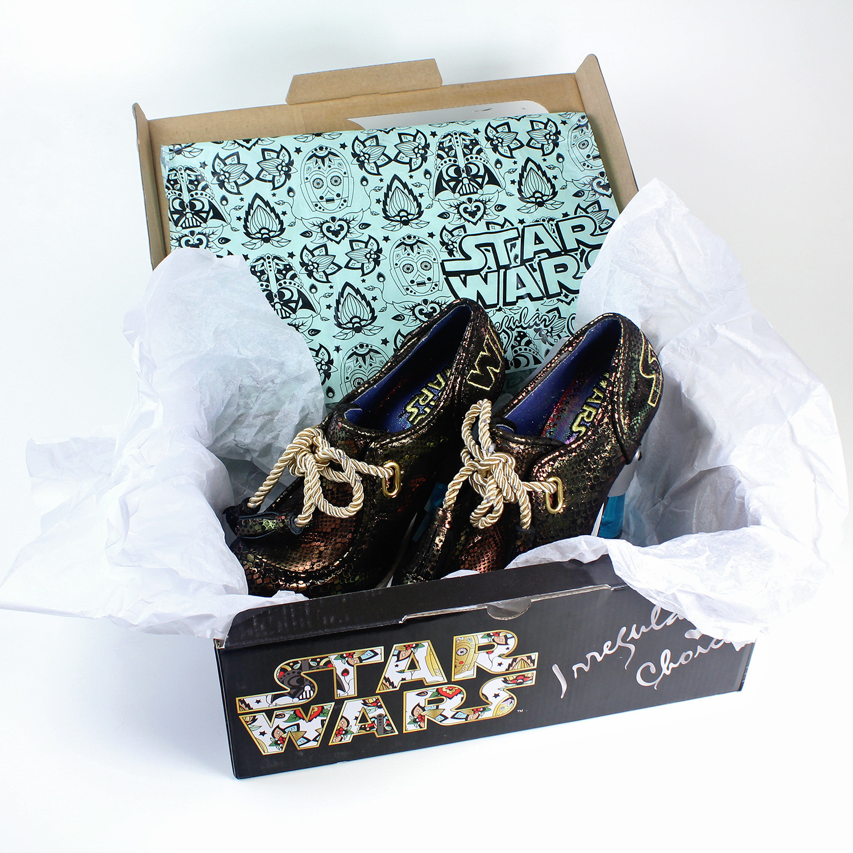 Irregular Choice x Star Wars - Skywalker Heels ...  sc 1 st  The Kessel Runway & Review - Skywalker heels - The Kessel Runway Aboutintivar.Com