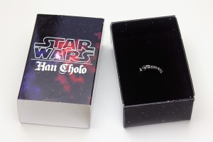 Han Cholo - Lightsaber ring with packaging