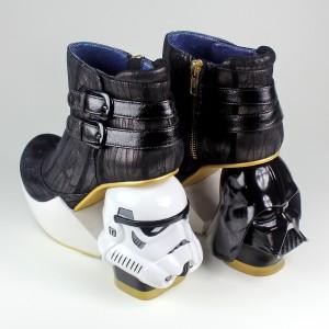 Irregular Choice - Darth Star ankle boots