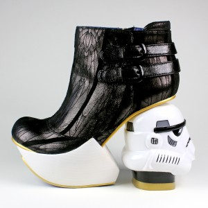 Irregular Choice x Star Wars - The Death Star boots