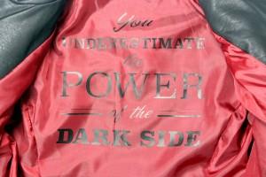Her Universe - Darth Vader pleather jacket (interior lining detail)