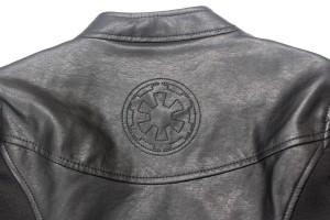 Her Universe - Darth Vader pleather jacket (back detail)