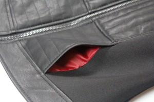 Her Universe - Darth Vader pleather jacket (pocket lining)