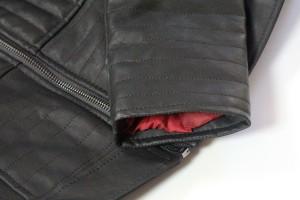 Her Universe - Darth Vader pleather jacket (sleeve lining)