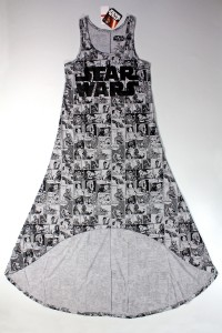 Hybrid - women's Star Wars comic art hi-lo dress (front)