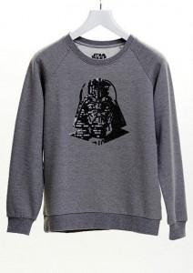 Delia's - women's Darth Vader sequin sweatshirt