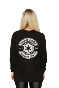 Her Universe - Dark Side Patches pullover (back)
