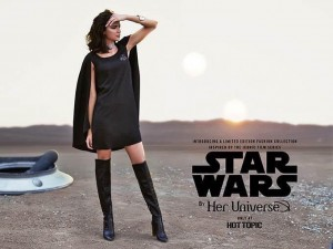 Her Universe - Star Wars Hot Topic collection advert
