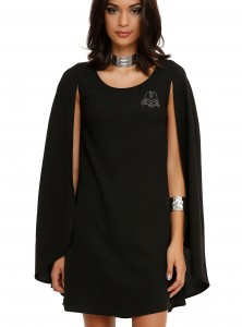 Hot Topic - Darth Vader cape dress by Her Universe