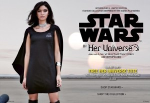 Hot Topic - Her Universe x Star Wars launch