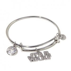 "HSN - Star Wars ""The Dark Side"" Dangle Bracelet"