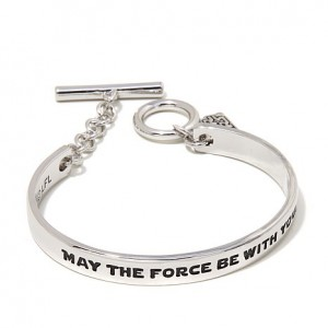 """HSN - Star Wars """"May the Force be with You"""" Bracelet"""