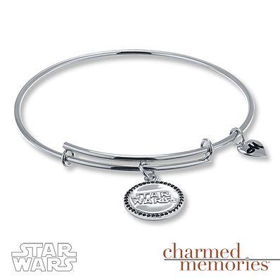 Kay Jewelers Star Wars Logo Expandable Bracelet Sterling Silver
