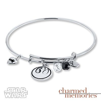 Kay Jewelers Rebel Alliance Expandable Bracelet Sterling Silver