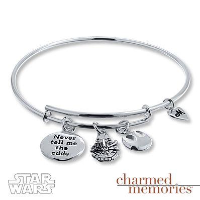 Kay Jewelers Millennium Falcon Expandable Bracelet Sterling Silver