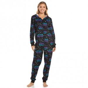 Kohl's - women's Star Wars logo pattern pyjama 'onesie'