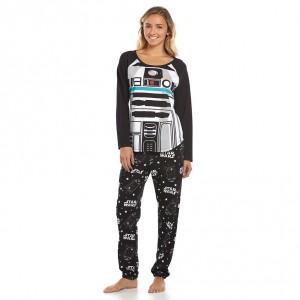 Kohl's - women's R2-D2 pyjama set (knit top and jogger pants)