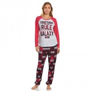 Kohl's - women's Galaxy pyjama set (knit top and jogger pants)