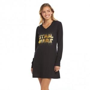 Kohl's - women's hooded The Force Awakens sleepshirt (front)
