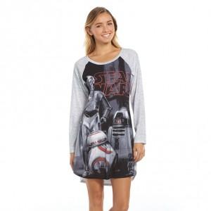 Kohl's - women's The Force Awakens droids sleepshirt