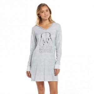 Kohl's - women's hooded Darth Vader sleepshirt (front)