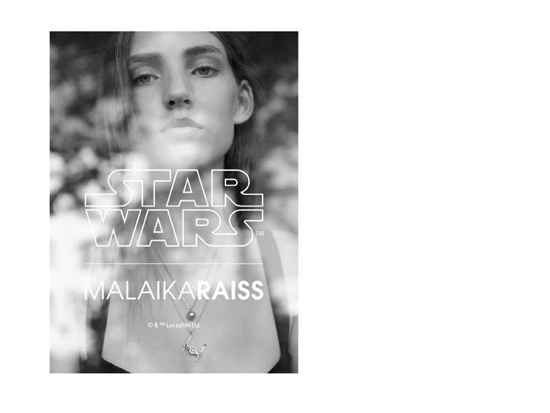 MALAIKARAISS - Star Wars jewelry collection advert