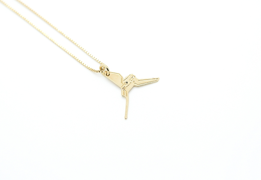 MALAIKARAISS - Imperial Shuttle necklace