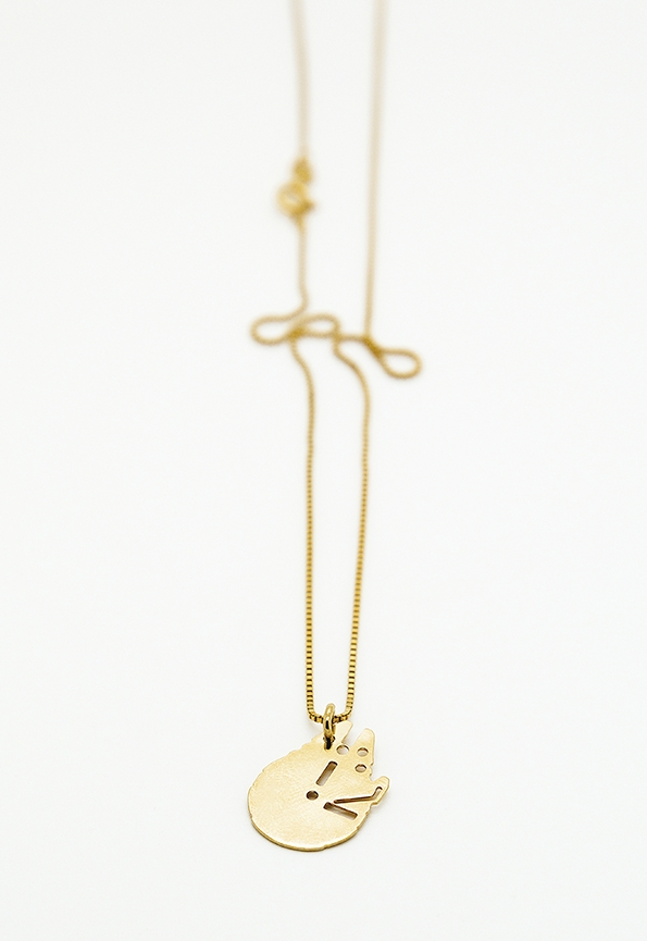 MALAIKARAISS - Millennium Falcon necklace