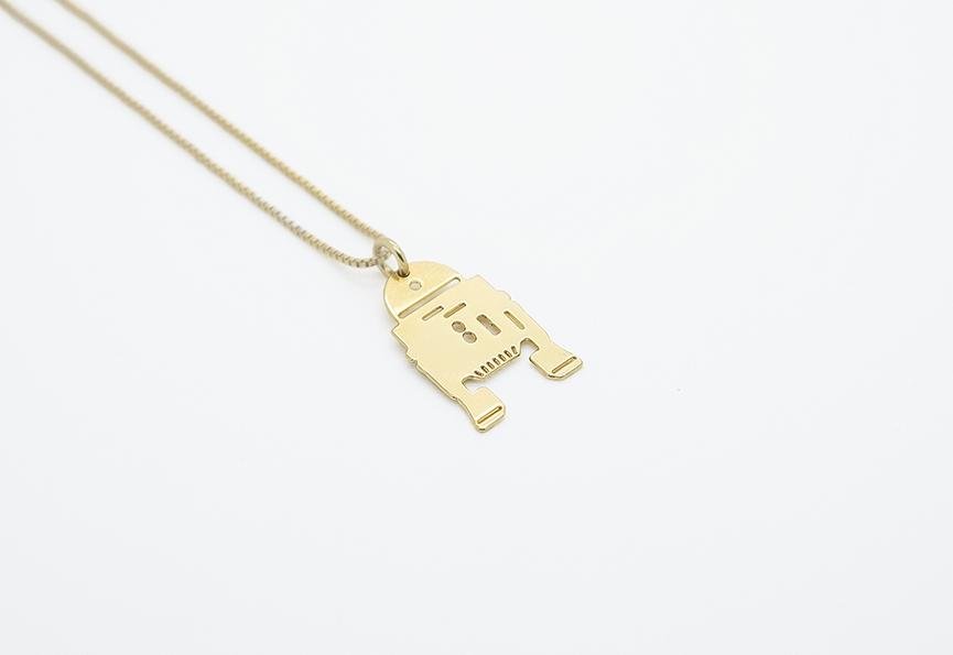 MALAIKARAISS - R2-D2 necklace