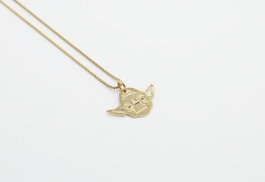 MALAIKARAISS - Yoda necklace