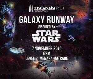 Malaysia Fashion Week - The Galaxy Runway inspired by Star Wars
