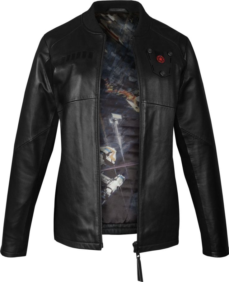Musterbrand - women's TIE Pilot leather jacket (limited edition)